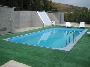 Собственный бассейн из полипропилена в доме или на земельном участке
