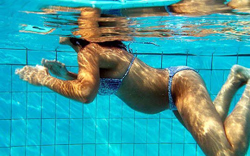 Польза бассейн для беременных