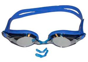 Очки для плавания с комплектом сменных переносиц