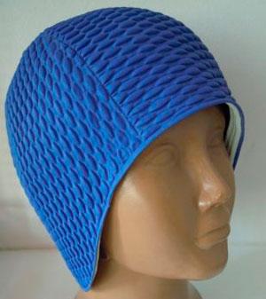 Так выглядит женская шапочка для бассейна