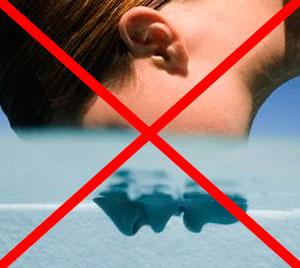 Не открывайте рот под водой, чтобы не подхватить заразу в бассейне